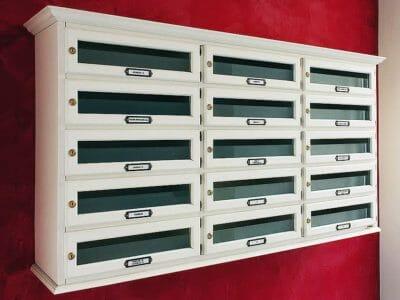 Cassette postali in legno Milano
